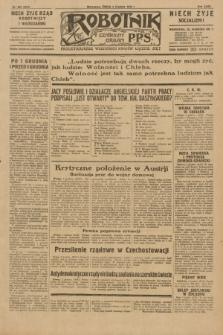 Robotnik : centralny organ P.P.S. R.35, nr 355 (4 grudnia 1929) = nr 3915