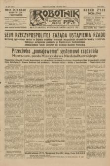 Robotnik : centralny organ P.P.S. R.35, nr 357 (6 grudnia 1929) = nr 3917
