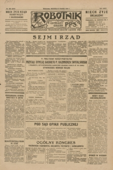 Robotnik : centralny organ P.P.S. R.35, nr 359 (8 grudnia 1929) = nr 3919