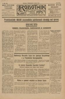 Robotnik : centralny organ P.P.S. R.35, nr 360 (9 grudnia 1929) = nr 3960