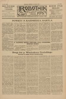 Robotnik : centralny organ P.P.S. R.35, nr 373 (22 grudnia 1929) = nr 3933