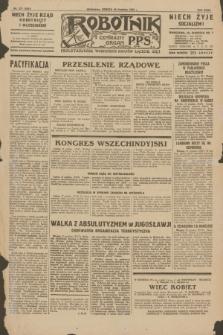 Robotnik : centralny organ P.P.S. R.35, nr 377 (28 grudnia 1929) = nr 3937