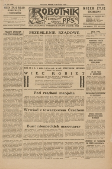 Robotnik : centralny organ P.P.S. R.35, nr 378 (29 grudnia 1929) = nr 3938