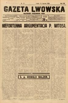 Gazeta Lwowska. 1933, nr12