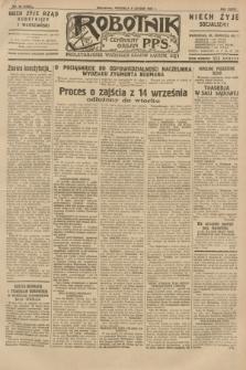 Robotnik : centralny organ P.P.S. R.36 [i.e.37], nr 56 (8 lutego 1931) = nr 4396