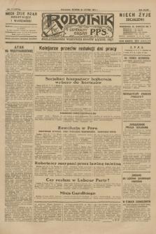 Robotnik : centralny organ P.P.S. R.36 [i.e. 37], nr 77 (24 lutego 1931) = nr 4417