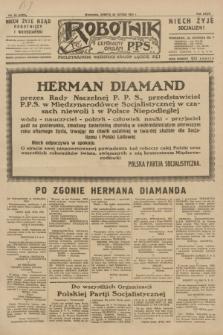 Robotnik : centralny organ P.P.S. R.37, nr 82 (28 lutego 1931) = nr 4422