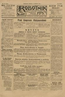 Robotnik : centralny organ P.P.S. R.37, nr 213 (14 czerwca 1931) = nr 3553