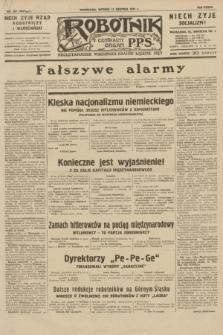 Robotnik : centralny organ P.P.S. R.37, nr 284 (11 sierpnia 1931) = nr 4624