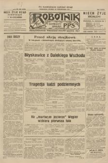 Robotnik : centralny organ P.P.S. R.37, nr 366 (20 października 1931) = nr 4706 (po konfiskacie nakład drugi)