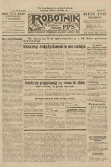 Robotnik : centralny organ P.P.S. R.37, nr 391 (11 listopada 1931) = nr 4731 (po konfiskacie nakład drugi)