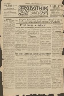 Robotnik : centralny organ P.P.S. R.38, nr 5 (5 stycznia 1932) = nr 4801