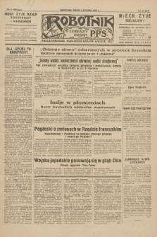 Robotnik : centralny organ P.P.S. R.38, nr 8 (8 stycznia 1932) = nr 4804
