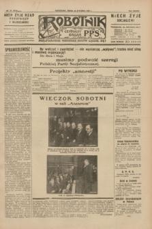 Robotnik : centralny organ P.P.S. R.38, nr 22 (20 stycznia 1932) = nr 4818
