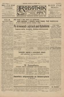 Robotnik : centralny organ P.P.S. R.38, nr 26 (24 stycznia 1932) = nr 4822