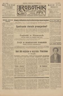 Robotnik : centralny organ P.P.S. R.38, nr 27 (25 stycznia 1932) = nr 4823