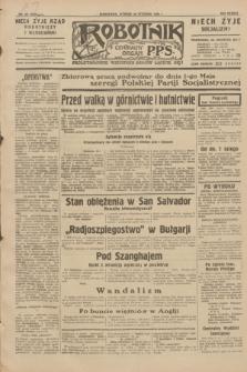 Robotnik : centralny organ P.P.S. R.38, nr 28 (26 stycznia 1932) = nr 4824
