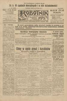Robotnik : centralny organ P.P.S. R.38, nr 33 (30 stycznia 1932) = nr 4829 (po konfiskacie nakład drugi)