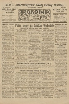Robotnik : centralny organ P.P.S. R.38, nr 40 (5 lutego 1932) = nr 4836