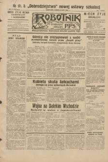 Robotnik : centralny organ P.P.S. R.38, nr 41 (6 lutego 1932) = nr 4837