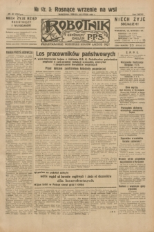 Robotnik : centralny organ P.P.S. R.38, nr 48 (13 lutego 1932) = nr 4844