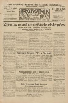 Robotnik : centralny organ P.P.S. R.38, nr 50 (15 lutego 1932) = nr