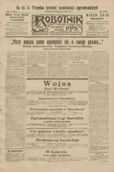 Robotnik : centralny organ P.P.S. R.38, nr 51 (16 lutego 1932) = nr 4847