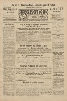 Robotnik : centralny organ P.P.S. R.38, nr 52 (17 lutego 1932) = nr 4848
