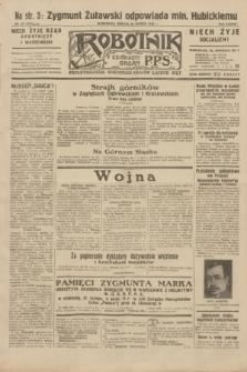 Robotnik : centralny organ P.P.S. R.38, nr 55 (20 lutego 1932) = nr 4851