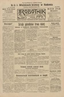 Robotnik : centralny organ P.P.S. R.38, nr 62 (25 lutego 1932) = nr 4858