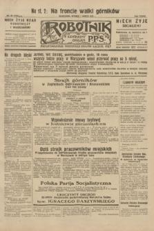 Robotnik : centralny organ P.P.S. R.38, nr 68 (1 marca 1932) = nr 4864