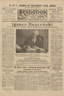 Robotnik : centralny organ P.P.S. R.38, nr 74 (5 marca 1932) = nr 4869