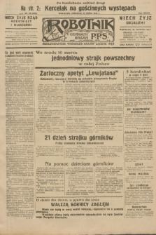 Robotnik : centralny organ P.P.S. R.38, nr 83 (10 marca 1932) = nr 4878 (po konfiskacie nakład drugi)
