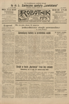 Robotnik : centralny organ P.P.S. R.38, nr 86 (11 marca 1932) = nr 4880 (po konfiskacie nakład drugi)
