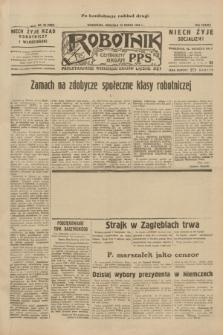 Robotnik : centralny organ P.P.S. R.38, nr 90 (13 marca 1932) = nr 4883 (po konfiskacie nakład drugi)