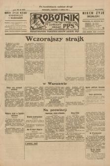 Robotnik : centralny organ P.P.S. R.38, nr 96 (17 marca 1932) = nr 4889