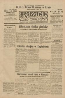 Robotnik : centralny organ P.P.S. R.38, nr 98 (18 marca 1932) = nr 4891 (po konfiskacie nakład drugi)