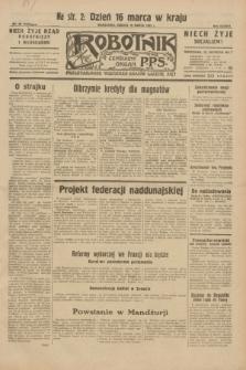 Robotnik : centralny organ P.P.S. R.38, nr 99 (19 marca 1932) = nr 4892