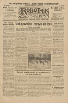 Robotnik : centralny organ P.P.S. R.38, nr 116 (4 kwietnia 1932) = nr 4909