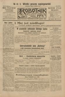 Robotnik : centralny organ P.P.S. R.38, nr 118 (6 kwietnia 1932) = nr 4911