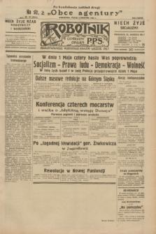 Robotnik : centralny organ P.P.S. R.38, nr 121 (8 kwietnia 1932) = nr 4914 (po konfiskacie nakład drugi)