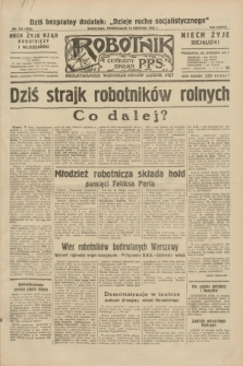 Robotnik : centralny organ P.P.S. R.38, nr 133 (18 kwietnia 1932) = nr 4926