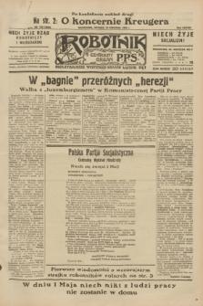 Robotnik : centralny organ P.P.S. R.38, nr 135 (19 kwietnia 1932) = nr 4928 (po konfiskacie nakład drugi)