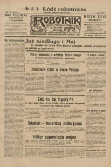 Robotnik : centralny organ P.P.S. R.38, nr 136 (20 kwietnia 1932) = nr 4929