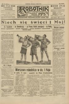 Robotnik : centralny organ P.P.S. R.38, nr 149 (1 maja 1932) = nr 4942