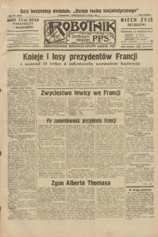 Robotnik : centralny organ P.P.S. R.38, nr 157 (9 maja 1932) = nr 4950