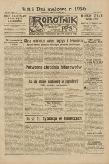 Robotnik : centralny organ P.P.S. R.38, nr 164 (14 maja 1932) = nr 4957