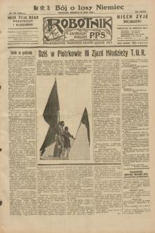 Robotnik : centralny organ P.P.S. R.38, nr 165 (15 maja 1932) = nr 4958