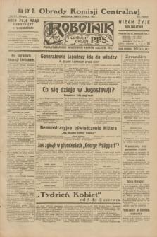 Robotnik : centralny organ P.P.S. R.38, nr 171 (21 maja 1932) = nr 4964