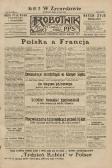 Robotnik : centralny organ P.P.S. R.38, nr 175 (25 maja 1932) = nr 4968
